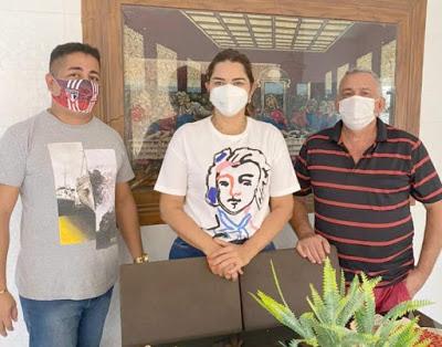 Vereador e suplentes do Solidariedade em Luzilândia declaram apoio à Deputada Janaína Marques